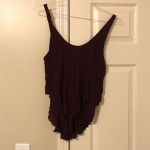 Intimately Free People double layer tank - L